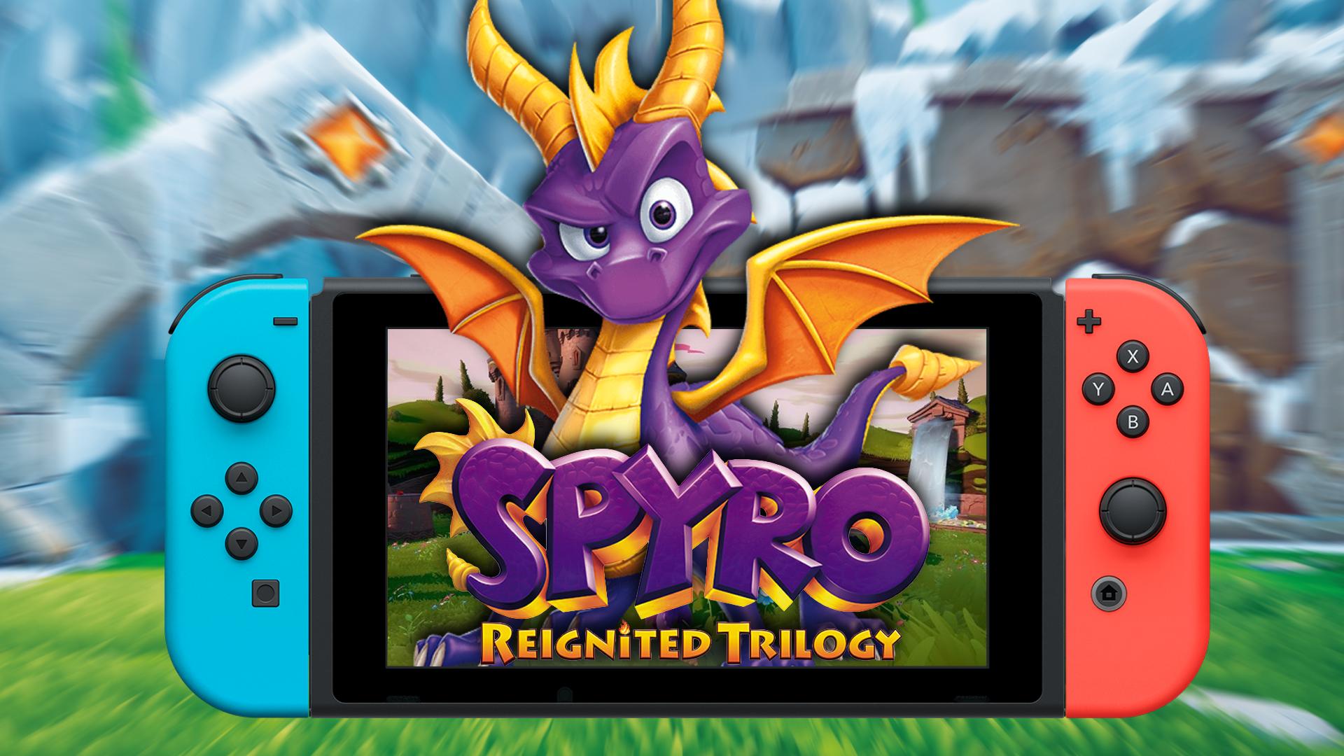Spyro Reignited Trilogy On Nintendo Switch Is Inevitable Joy Sticks Gaming